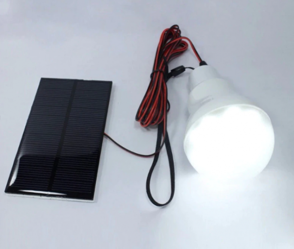 Outdoor solar led lamp