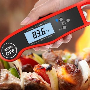 Digital BBQ Thermometer Oven Grill Meat Food Thermometer Smokehouse Pyrometer Outdoor Kitchen Cooking Accessories